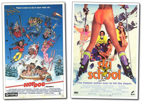 Hot Dog vs. Ski School  The epic inaugural battle that set the madness in motion.