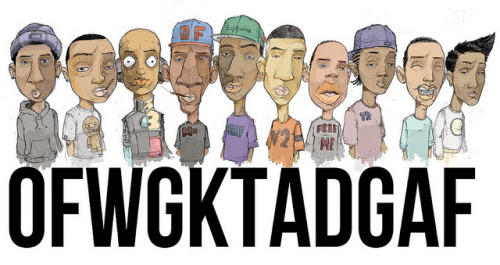 Ever get confused about what the hell OFWGKTA is talking about?   Check out the explanations behind the Odd future songs below.   Domo Genesis – Doms Lyrics Domo Genesis – Bitches Lyrics Domo Genesis – Hcapd Lyrics Frank Ocean – White Lyrics Hodgy Beats – Lean Lyrics Hodgy Beats – Snow White Lyrics Hodgy Beats – P Lyrics The Internet – Ya Know Lyrics Mellowhype – 50 Lyrics Mellowhype – Real Bitch Lyrics Mike G – Forest Green Lyrics Odd Future – Analog 2 Lyrics Odd Future – Hi Lyrics Odd Future – NY (Ned Flanders) Lyrics Odd Future – Oldie Lyrics Odd Future – Rella Lyrics Tyler the Creator – Sam (Is Dead) Lyrics Tyler the Creator – We Got Bitches Lyrics Rap Genius is blowing up.  Definitely sign an account with them and share your Rap IQ on your favorite lyrics!   And as of today… Branding in Hip-Hop is officially a part of their blog family!