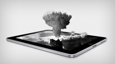 UPDATE: The new iPad overheats and tends to explode when you put it in the microwave…
