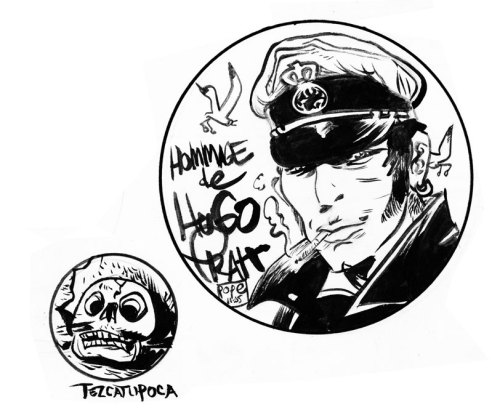 destroycomics:  Corto Maltese!