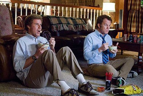 hakuna-matata-motherfucker:  iamdecepti0n:  this movie<3  see step brothers on tv… two hours of your life consumed immediately.