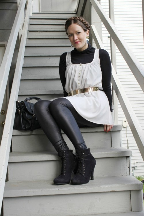 "Street style indie fashion win: A Space take on ""Heidi."" So cute! - PopThreads(via (1) PopThreads / Pinterest)"