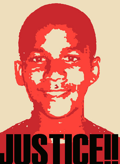 What do we want? Justice for Trayvon Martin & a system that no longer targets black/brown youth!