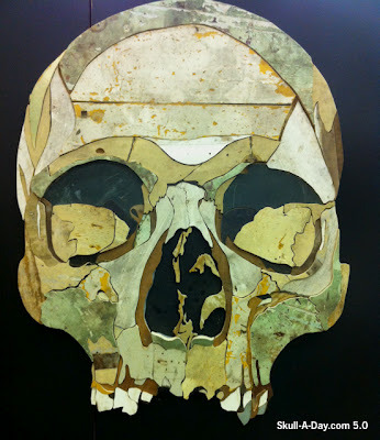 More art made from salvaged material: Friend of Unconsumption and Skull-A-Day project founder Noah Scalin (mentioned previously here and here) hipped us to the reclaimed wood artwork of Diederick Kraaijeveld of The Netherlands.  [Thanks, Noah!]