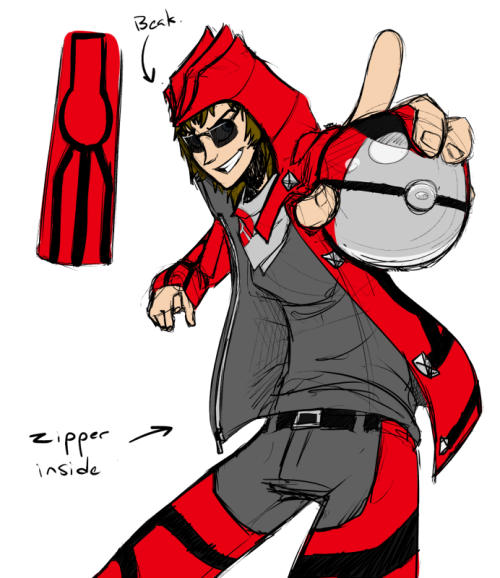 A more casual version of my groudon outfit. This one has 66% less capes. Proooobably gonna edit this a bunch before I'm satisfied with it. Actually I'm gonna edit it right now so this one is DEEEEFUUUUUNCT ps i've caught all my groudons in timer balls because color matchup