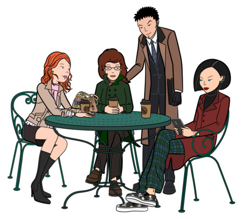 so-treu:  thedeeface:  dedication-to-daria:  Daria & Jane would be 31 now. Trent would be 36 and Quinn would be 29. Wow, can you believe it? I sure can't.  I need grown-up Daria in my liiiife.  ^^^^^  This is weirder than me having a baby.