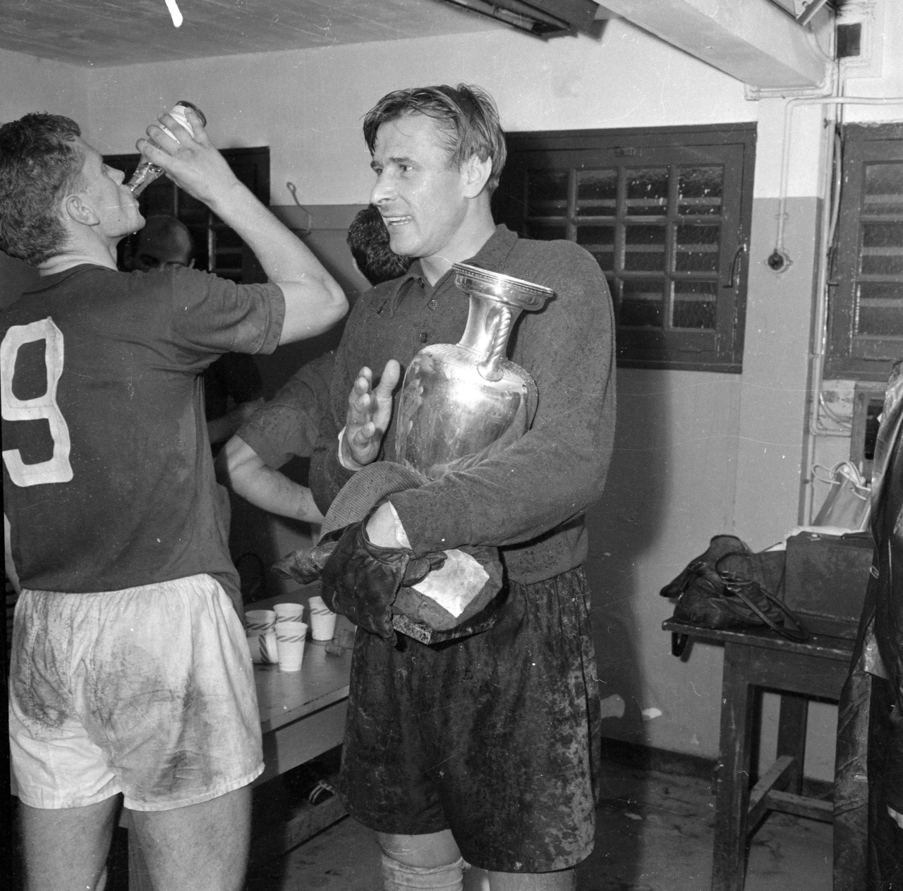 Lev Yashin, after the final of Euro 1960.