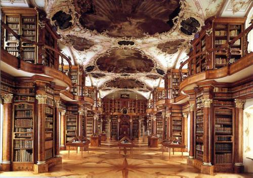 Stiftsbibliothek, St. Gallen, Switzerland