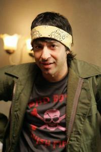 merry-its-frodo-baggins:           I am thinking about Arj Barker                                      Check-in to               Arj Barker on GetGlue.com