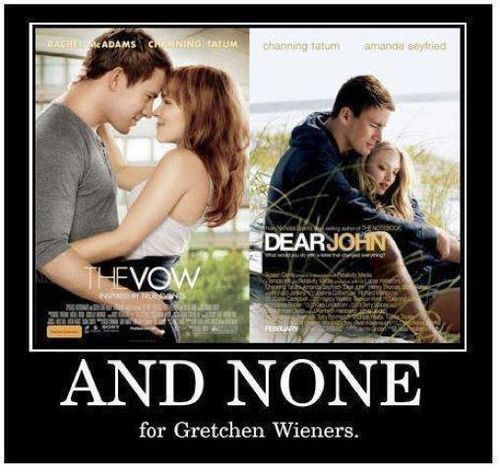 That is so not fetch Gretchen.