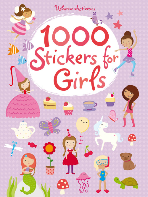 1000 Stickers for Girls out soon!