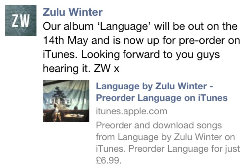 LANGUAGE, out 14th of May   OH YEAHHHHZ