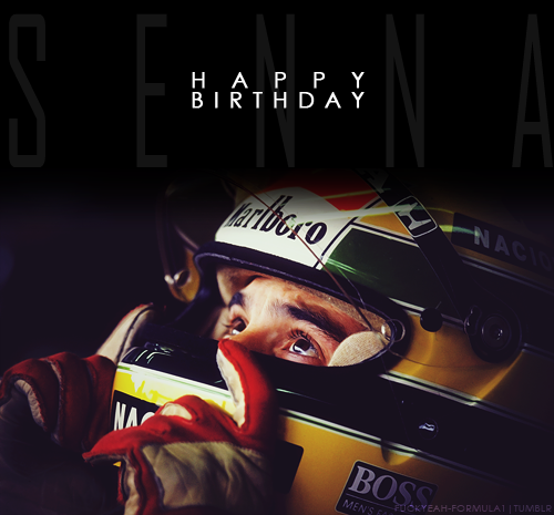 Happy birthday to Ayrton Senna. He would be 52 now…