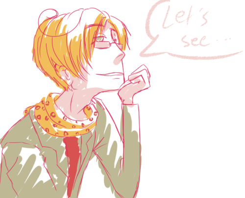 doriima:  Um. Hi.I, um, like 2p Hetalia a lot. And there are so many cool fan-designs for the characters which did not get one (yet)!So, this one is 2P!Romano, based on this wonderful being. so. very. stylish. <3I could not help but draw him, no. :|