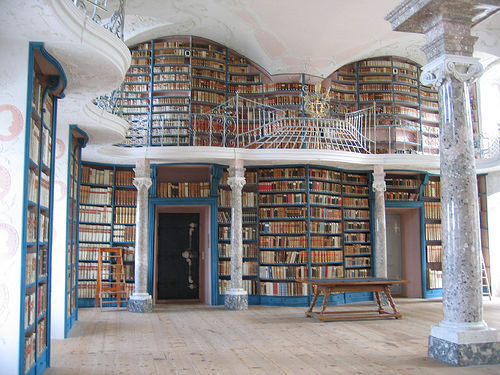 definitelydope:  a biblioteca do Convento (by Fabio Panico)