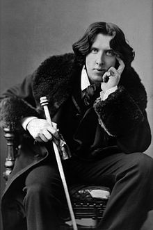 "Oscar Fingal O'Flahertie Wills Wilde was born on this day in 1854, ""I believe that it is customary in good society to take some light refreshment at 5 o'clock"" Algernon from The Importance of Being Earnest  Photograph of Oscar Wilde by Napoleon Sarony"