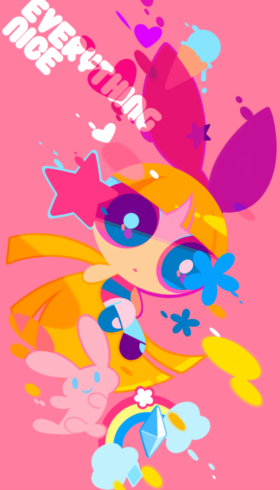 Yeah, I'm still getting high off the Powerpuff Girls fan art of Tumblr artist Mintchoco.