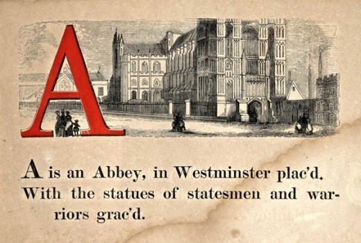 London Alphabet, 1850s | Retronaut So charming.