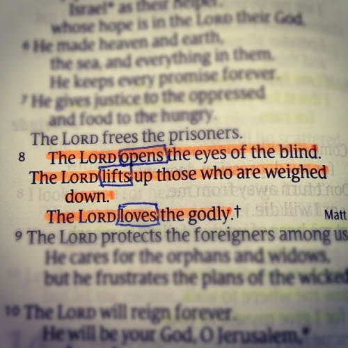 murphy24p:  Psalm146:8 #scripturegram (Taken with instagram)