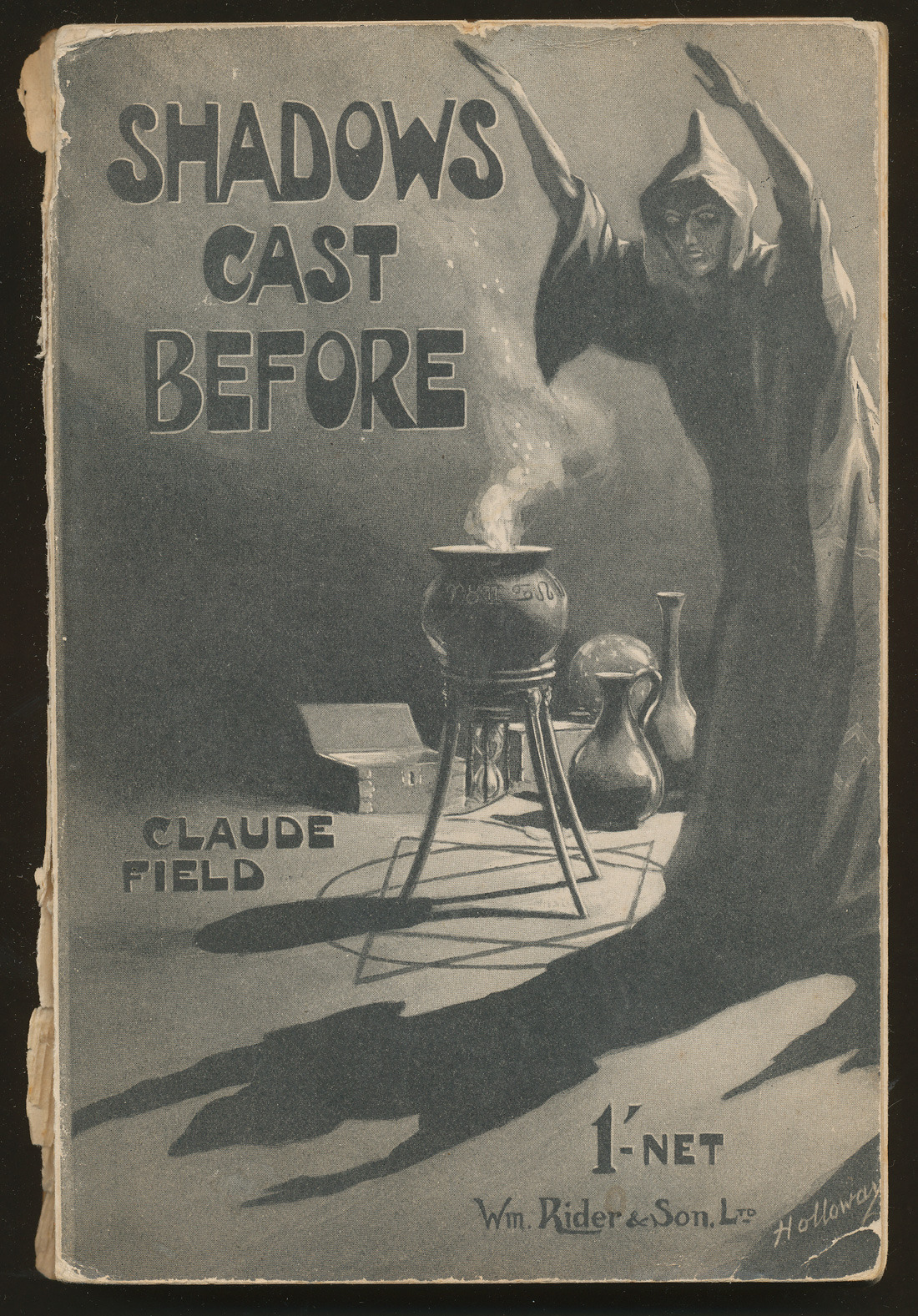 """Shadows Cast Before"" by Claude Field. Published by Wm. Rider, 1940"