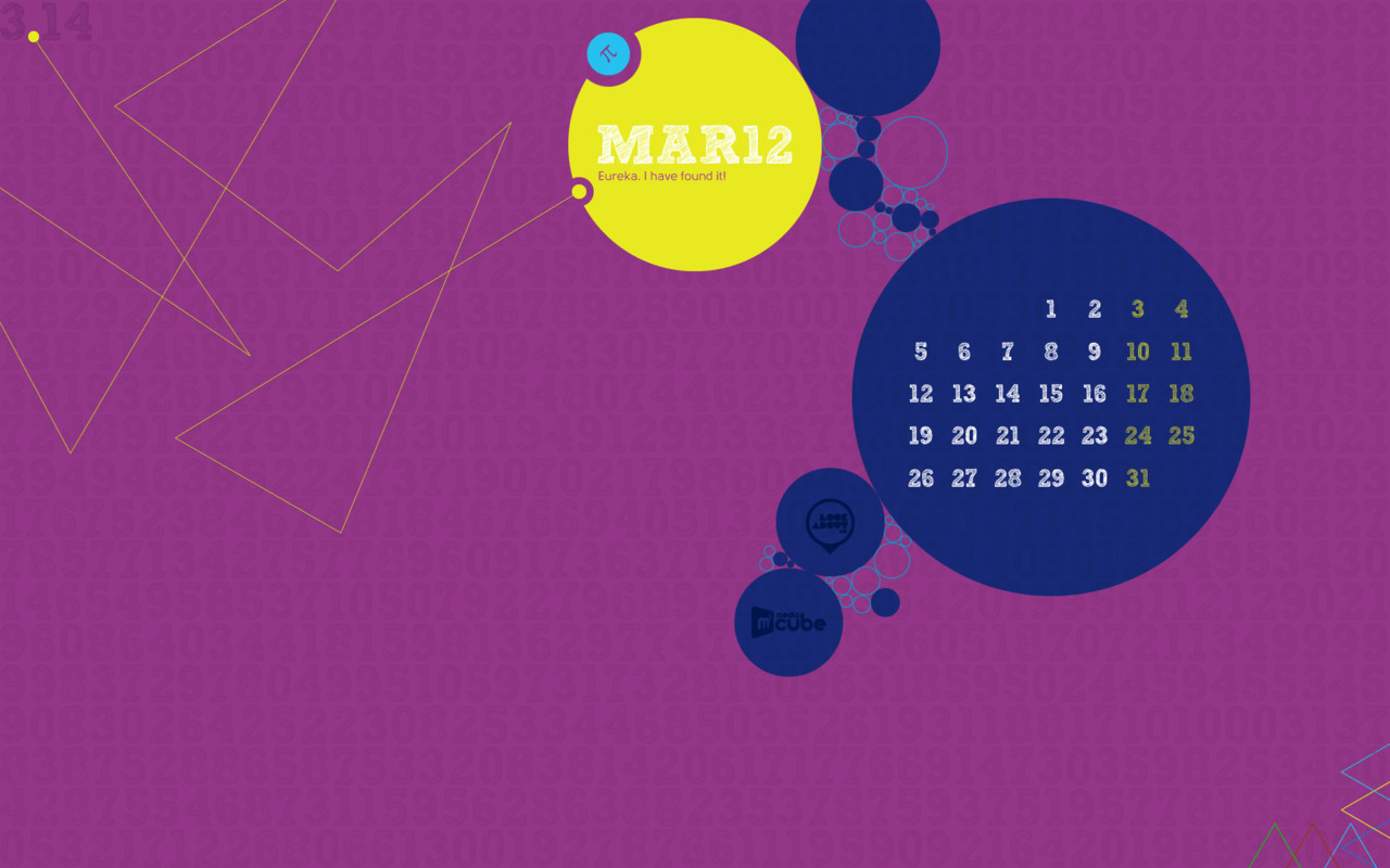 Our calendar for March 2012 dedicated to science Available in various sizes on our website.
