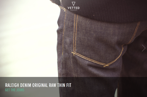 Our Original Raw Thin is now at Vetted!