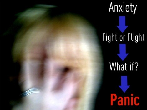 The dangerous, and circular logic of anxiety.