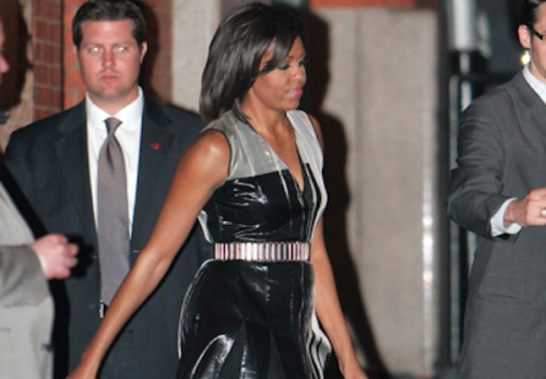 First Lady Michelle Obama was spotted looking hot — and as fabulous as ever — at a fundraiser for President Obama this week. Beyonce Knowles was among the attendess, along with her mother and sister, Tina and Solange Knowles. Star Jones, Whoopi Goldberg, Ben Stiller, and longtime Obama supporter Harvey Weinstein were also in attendance. The FLOTUS was, as always, cheered on by raucous cheers and applause, proving once again that she is just as beloved as the POTUS. Read the whole story and more Here!