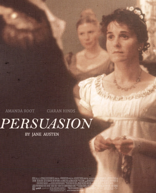 songsofwolves:  poster remake | Persuasion (1995)   MY FAVORITE.