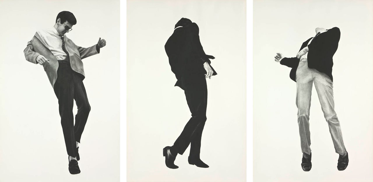 MEN TRAPPED IN ICE - ROBERT LONGO 1979