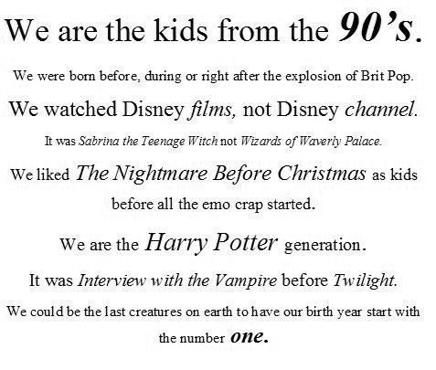 reblog if you're a 90's kid!