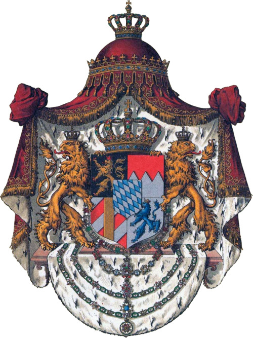 wwone:  Coat of Arms of the Kingdom of Bavaria