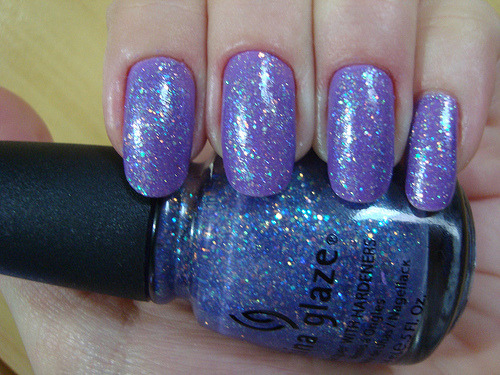 distinctivemakeup:  I think that faeries would use this nail polish.