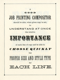 nevver:  How To Typeset a Poster   maybe a philosophy to live by?