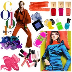 Color by erihang featuring a deborah lippmann nail polishBobbi Brown Cosmetics neon eyeshadow, $21Stila cosmetic, $20Eye makeupStila lip makeupStila eyeshadowDeborah lippmann nail polish, $16American apparel nail polish, $6