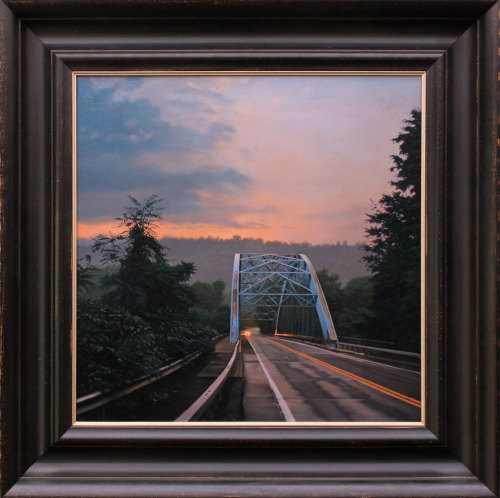 "Matthew Cornell ""Coming Home"" Oil on Panel 20""x20"""
