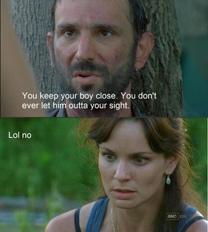 (via In the most biting Walking Dead memes, everybody hates Lori!)