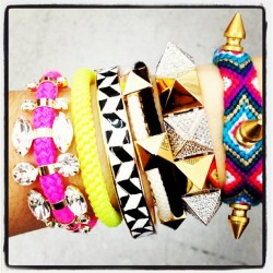 Vicious. #armrave #armparty #bracelets (Taken with instagram)