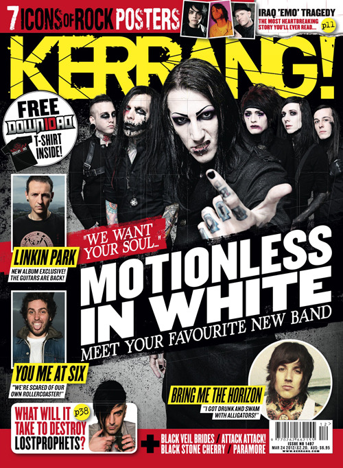 MIW On The Cover Of Kerrang! photo 1