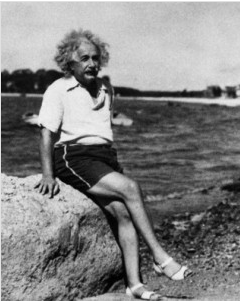 "theweekmagazine:  Albert Einstein's personal papers, now online: From an original handwritten draft of the Theory of Relativity to personal letters, Israel's Hebrew University announced that it has added 2,000 newly digitized documents from Albert Einstein's collection to its online portal. In one letter, a 6-year-old writes, ""I saw your picture in the paper. I think you ought to have a haircut."" An older fan wrote, ""I'm making a scientific survey to determine why genius so often tends to long hair.""  6 revelations from Einstein's letters, papers and notes"