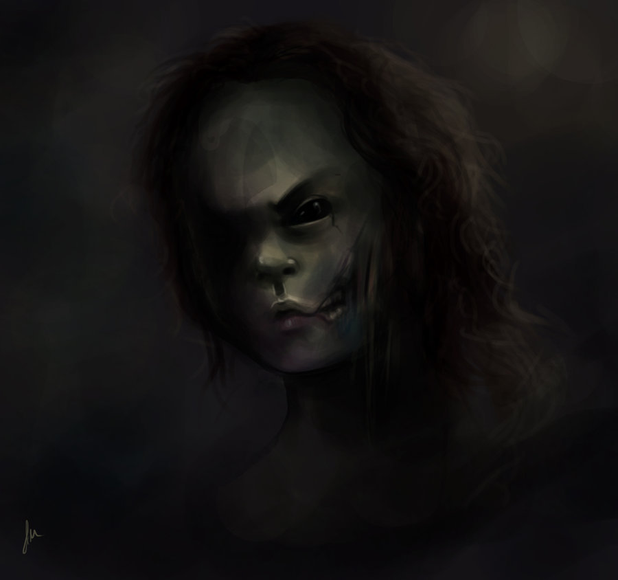 "#zombie A test round for the regressed ""lost children"" from my wip story Eclipse. (Not actually a zombie)"