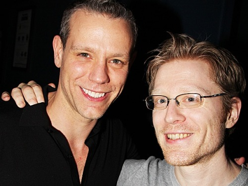 "broadwaycom:  Anthony Rapp on his RENT co-star Adam Pascal's star turn in MEMPHIS: ""He's kind of a goofball"""