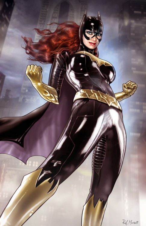gailsimone:  ealperin:  raffaelemarinetti:  new Batgirl of the series..Painted with ps-CS2, as my usual..  Holy Mother of GOD….O.O GAIL!!!! I THINK I'VE FOUND A NEW COVER ARTIST FOR YOUR BATGIRL SERIES…Well, other than Adam Hughes and Syaf. ;) Holy BEJEEBUS. THAT IS AMAZING!