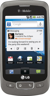 LG Optimus (T-Mobile) $120.