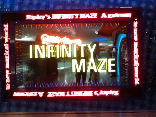 infinity maze! so catchy.