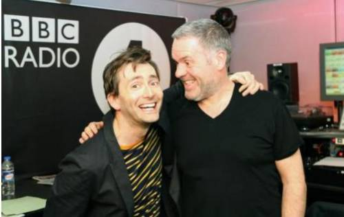doctorwho:  David Tennant on the Radio One Breakfast Show Marchg 21, 2012 Click through for audio clips  Fuck. He's just too sexy.
