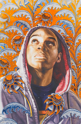 aminatou:  This Kehinde Wiley painting is so important in this Trayvon Martin moment
