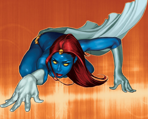 jointheevolution:  Mystique by ~aleciarodriguez