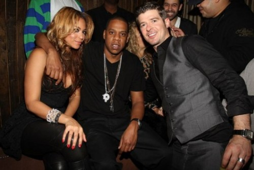 "Robin Thicke - ""Jay and Beyoncé are probably my most favorite couple in the whole world"" read more below… http://theybf.com/2012/03/21/ybf-exclusive-robin-thicke-comes-cleans-about-weed-possession-plans-for-a-second-child-wh"