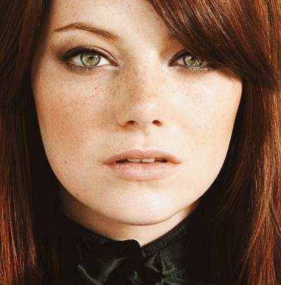 Emma Stone. Beautiful photo.raleigh-st-clair:  ded